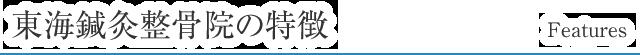 東海はり灸整骨院の特徴